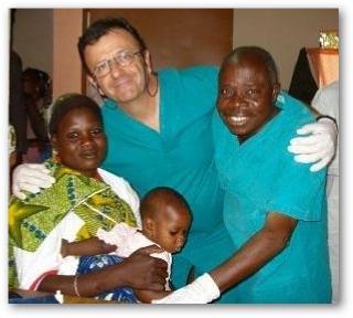 Medico missioni umanitarie in Africa